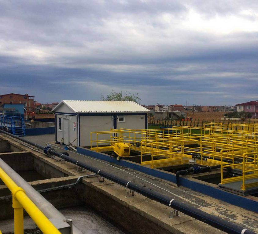 TEKİRDAĞ – MARMARAEREĞLİSİ YENİÇİFTLİK DISTRICT WASTEWATER TREATMENT PLANT